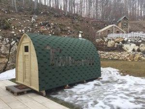 Sauna Giardino Igloo Abete Siberiano, Mauro Zampieri, VERONA, Italia