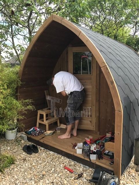 Igloo Sauna Da Giardino All'aperto