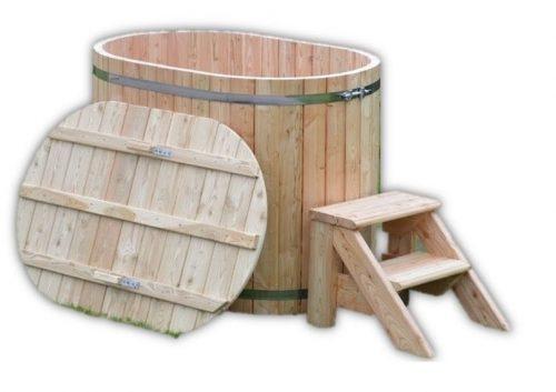 Hot tub jacuzzi legno 2 posti