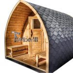 Sauna da esterno per giardino stufa a legna