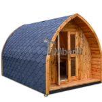 Casetta da giardino mobile per campeggio, agriturismo