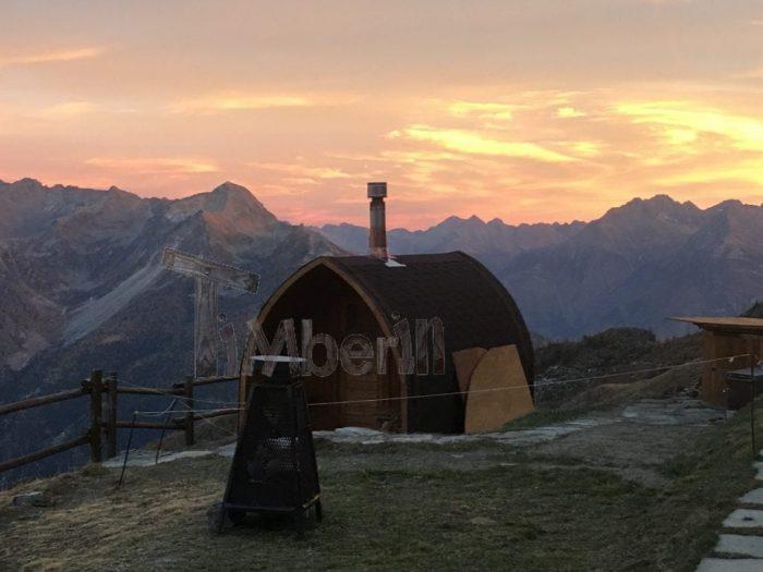 Sauna All'aperto Per Giardino Igloo, Marcello, Doues Aosta, Italia (2)