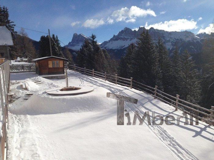Vasca Tinozza In Legno Deluxe,Andreas, Hotel Aurora, Brixen (BZ), Italien (5)