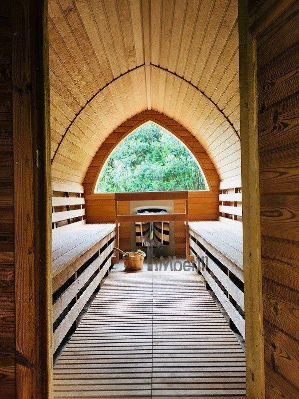 Sauna All'aperto Per Giardino Igloo, Villa Angelica, San Giacomo, Italia (3)