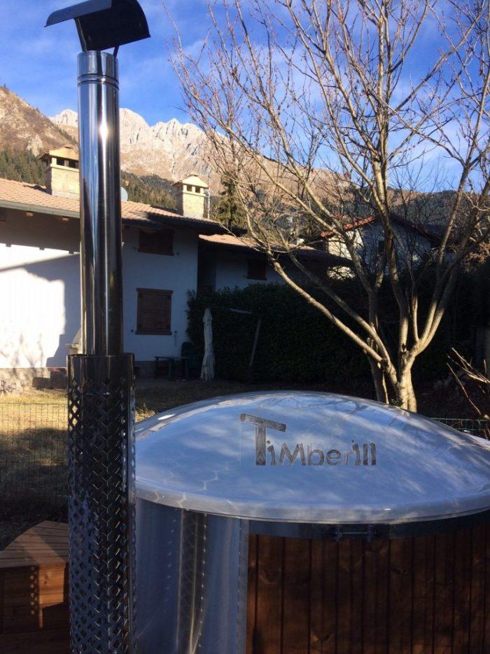 Vasca Idromassaggio In Vetroresina Con Stufa Integrato Wellness Royal, Paolo, Italia (4)