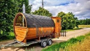 Sauna A Botte All'aperto In Giardino