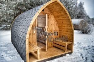 Sauna Finlandese Da Esterno A Legna