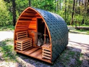 Sauna Prefabbricata Da Esterno