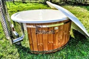 Vasca Tinozza Hot Tub In Legno Con Stufa