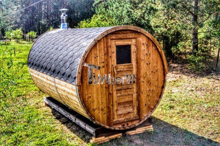 Sauna Da Esterno A Botte