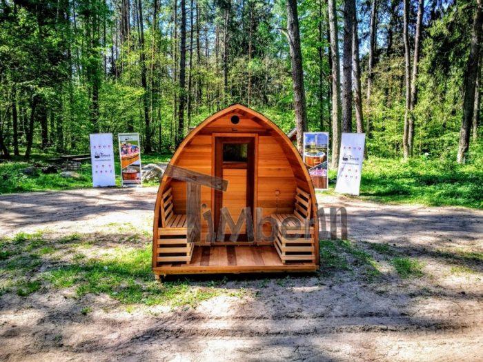 Sauna Finlandese A Botte Da Esterno