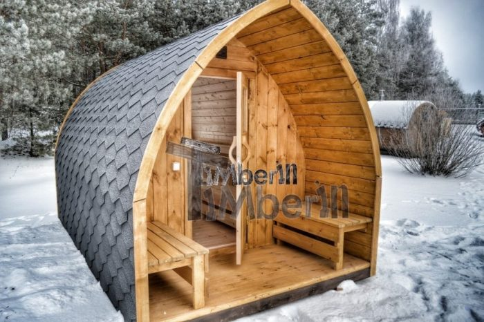 Sauna Finlandese Da Esterno